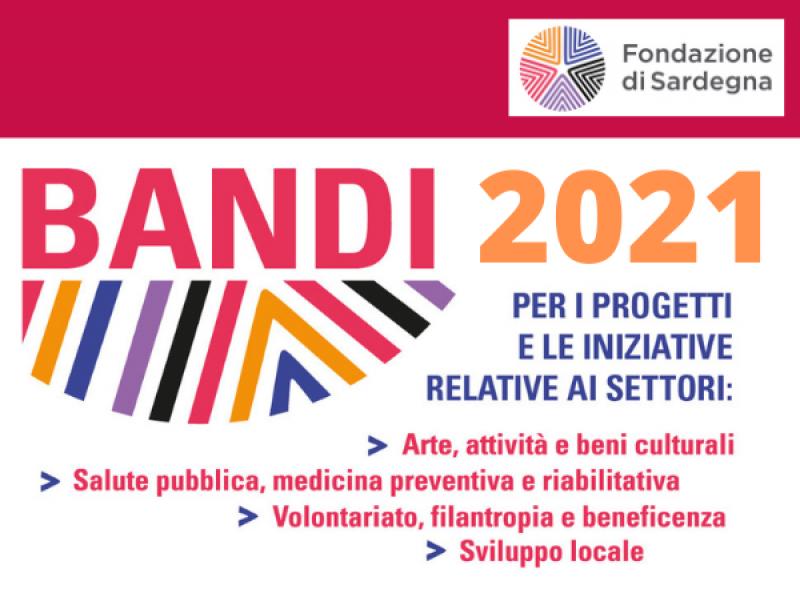 Bandi 2021 Fondazione di Sardegna