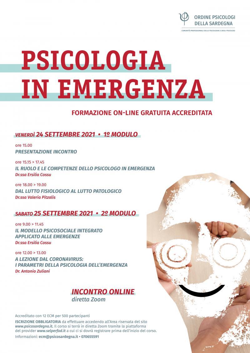 Psicologia in emergenza